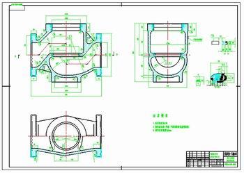 使用caxa电子图板设计的零件图